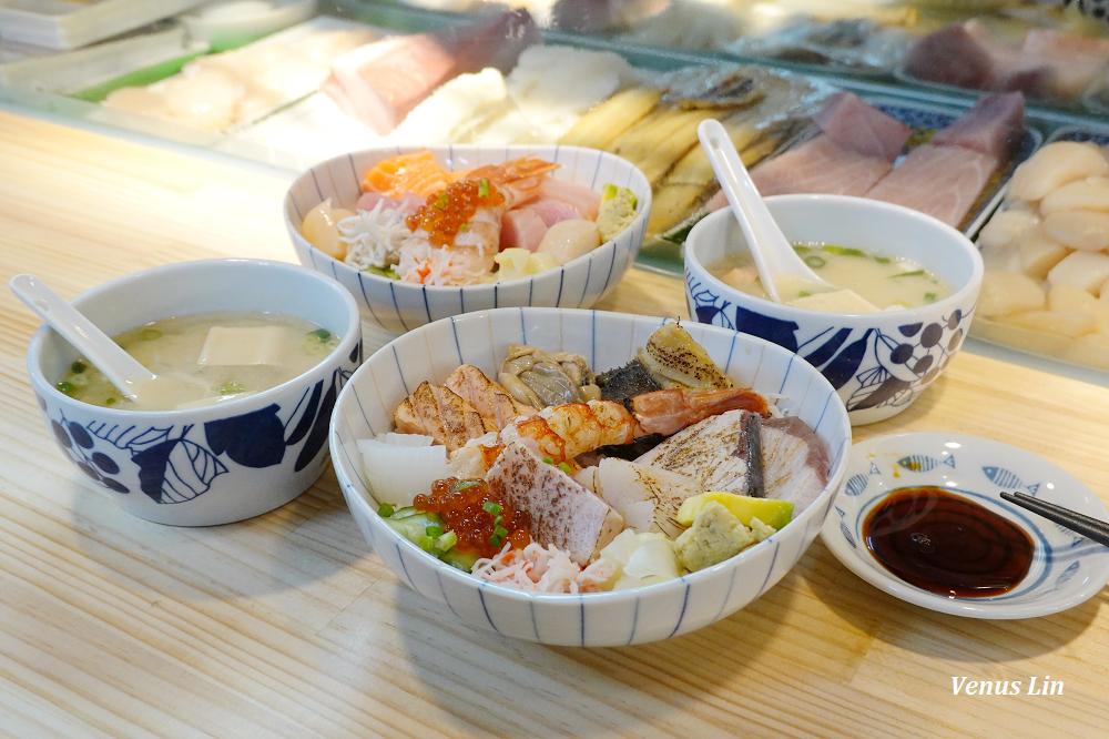 漁匠甘霖,藏身在永樂市場裡的海鮮丼、握壽司,迪化街/大稻埕美食