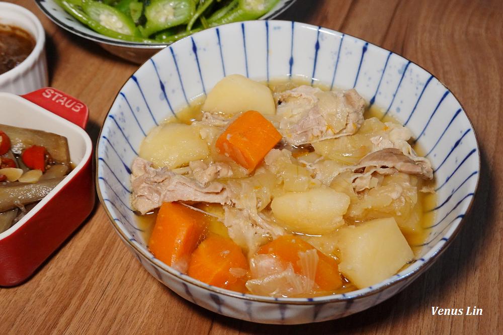 輕鬆煮出綿密又鬆軟的馬鈴薯燉肉,好下飯呀(siroca壓力鍋食譜)