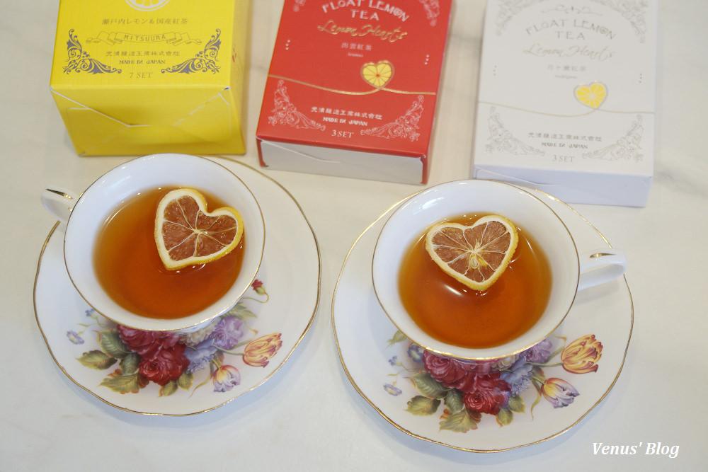 【日本熱門商品】光浦釀造漂浮心型檸檬紅茶(附購買地點)
