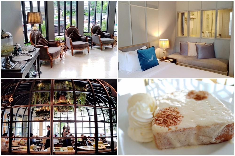 【曼谷最新飯店】Well Hotel Bangkok甜美超值新旅館xEmprorium東方文華甜點x貴婦百貨EmQuartier熱門奶油吐司咖啡館