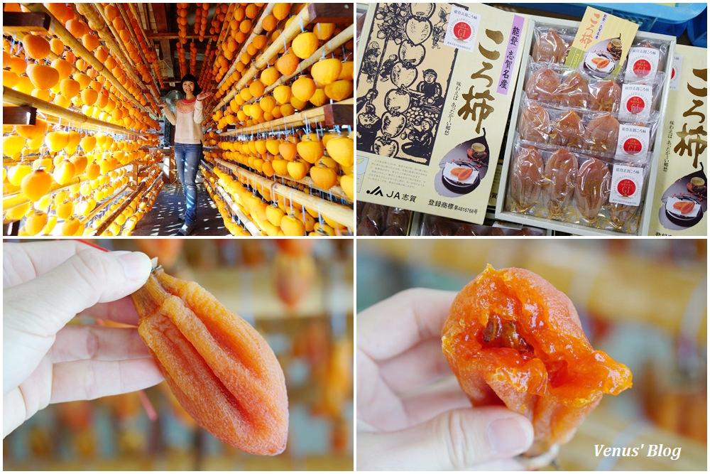 【能登志賀必買】能登志賀ころ柿-日本最頂級柿餅,超甜!口感特別介於果醬跟果凍之間