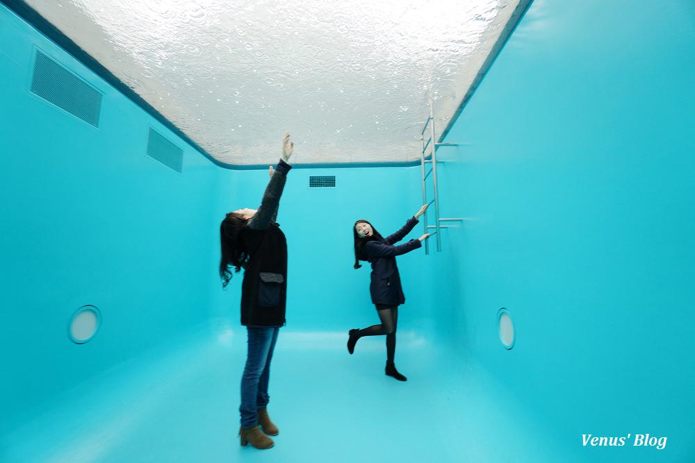 【金澤必遊景點】金澤21世紀美術館,走進游泳池裡,2016年最想到訪的日本景點