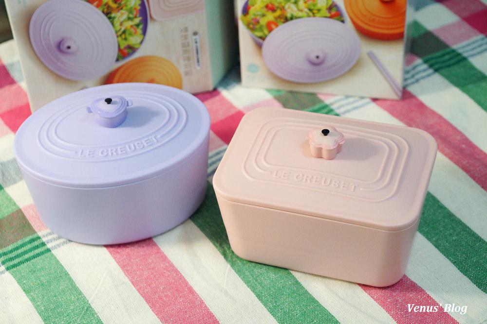 【7-11集點開箱】LE CREUSET食尚精品,運氣好好換到2款想要的LC雙層微波便當盒