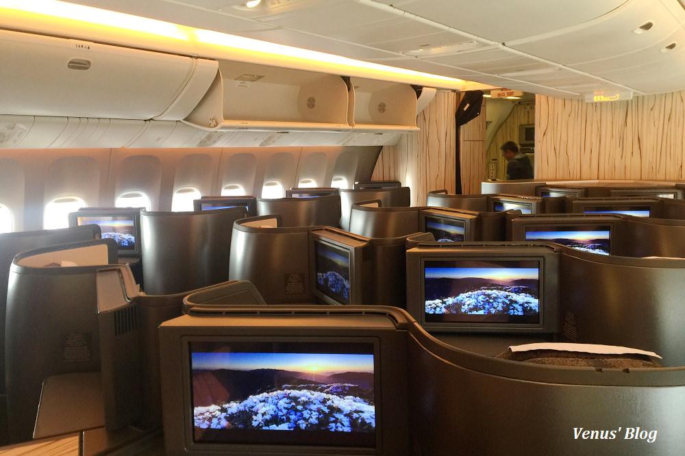 中華航空桃園飛大阪關西,777-300ER水墨畫新飛機,來回飛機餐,2016.11.29~12.03