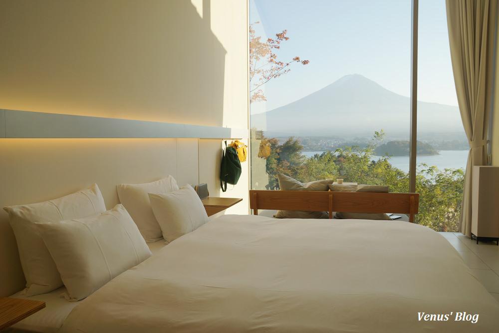 【河口湖星野】星のや富士-此生必住,超夢幻在房間裡就能看到富士山