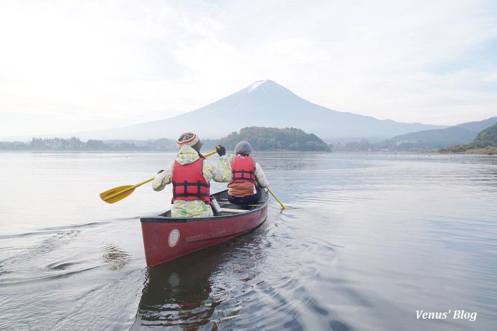 【河口湖星野】與富士山最近距離接觸、在河口湖划船賞富士山