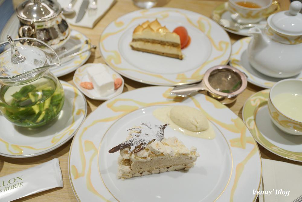 【新宿伊勢丹下午茶】LE SALON JACQUES BORIE-低調的高檔沙龍甜點店