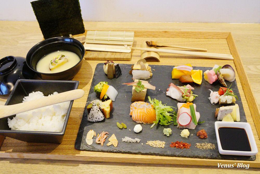 【京都四條美食】AWOMB手織壽司-自己吃的壽司自己卷,京食材選用