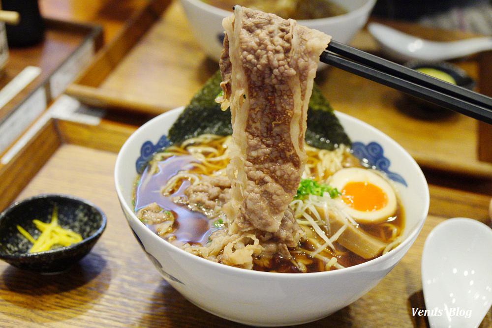 京都拉麵|豬一拉麵-限量的A4和牛醬油拉麵,湯頭超清爽可以喝光光
