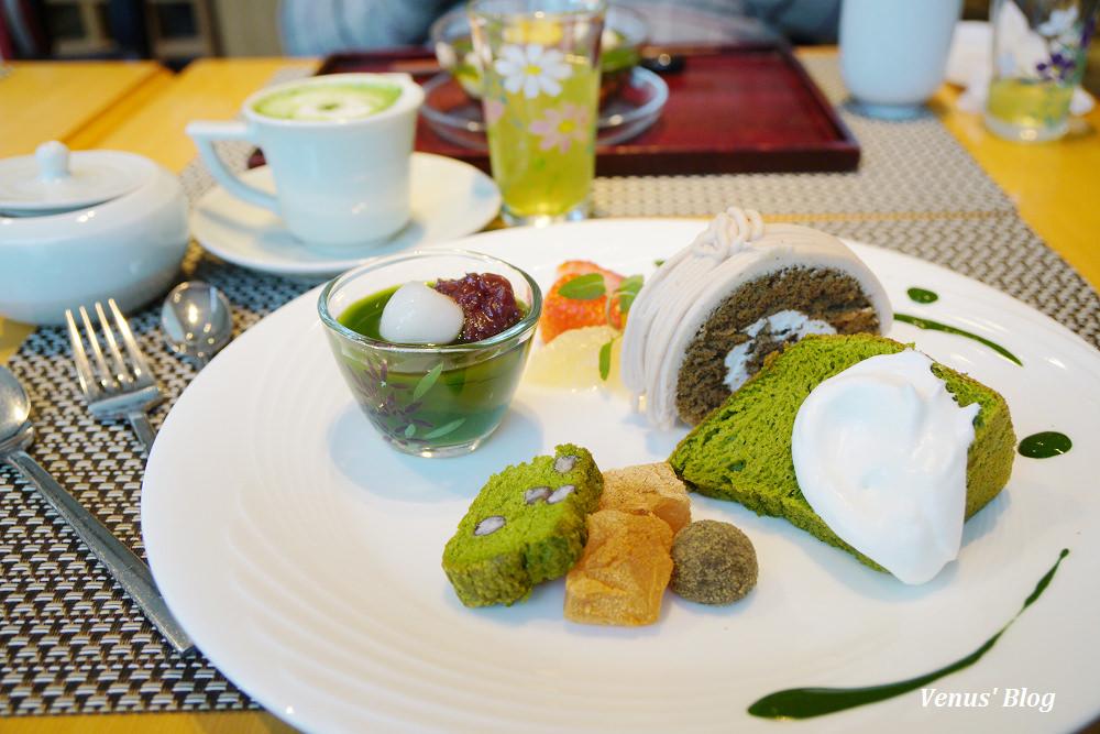 【京都抹茶甜點】福壽園京都本店京の茶寮 -200年老茶舖的迷人抹茶甜點