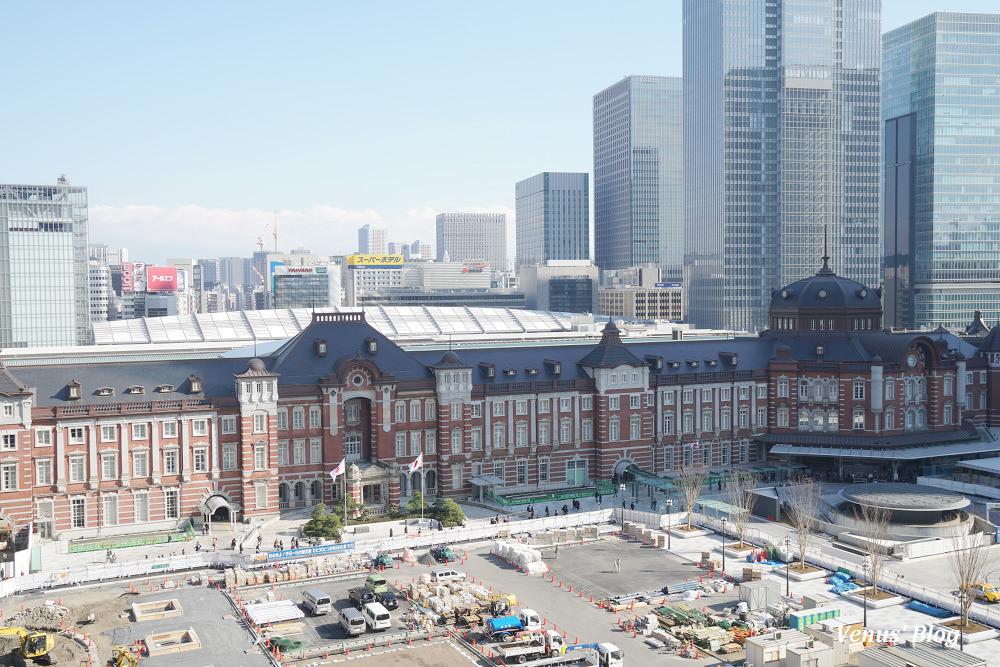 【東京自助】拍攝東京車站日夜景最佳角度攻略,3個免費展望台不藏私公開