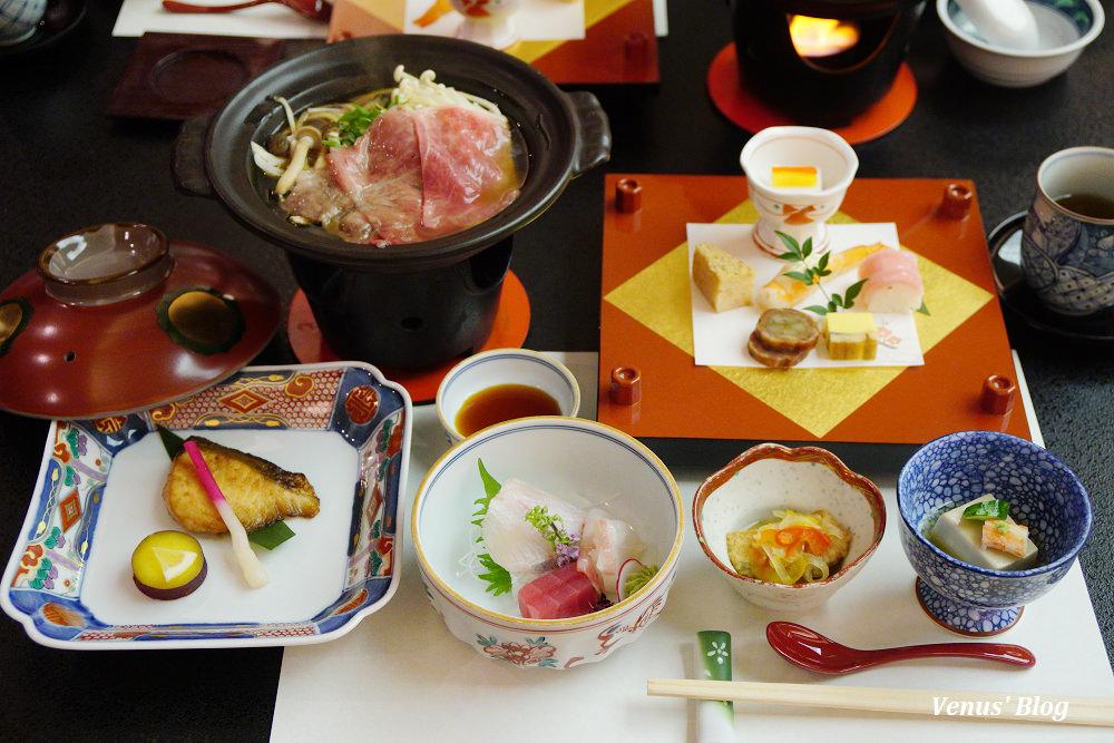 【箱根溫泉旅館】箱根湯之花王子大飯店一泊二食,日式晚餐跟早餐都精緻美味