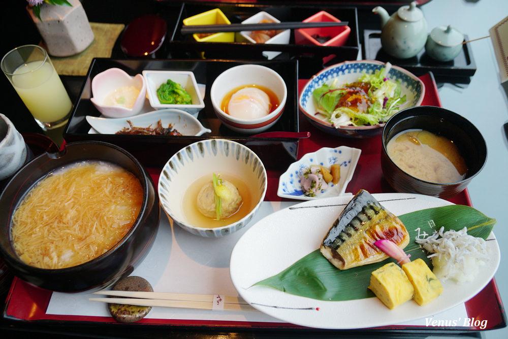 【東京日式早餐】東京椿山莊みゆき,台幣900元享受五星級超精緻日式早餐,眺望椿山莊庭園景色