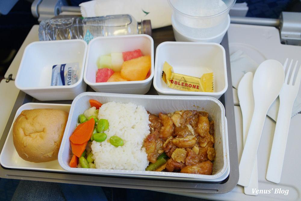 國泰航空香港機場寰宇堂貴賓室,香港飛上海A330-300飛機餐 2017.03.19
