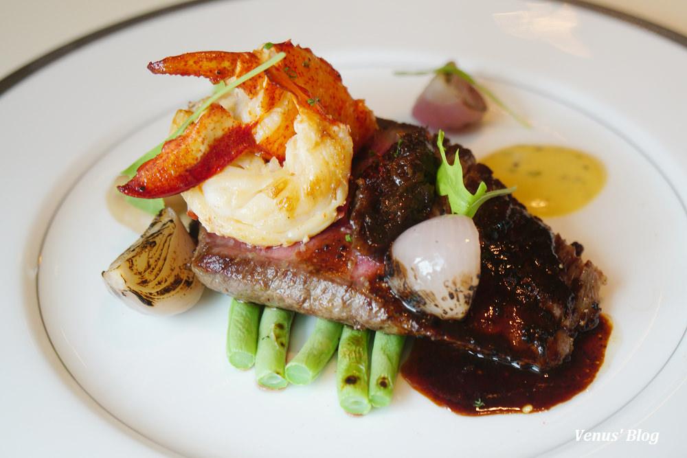 【台北文華東方酒店 】CAFE UN DEUX TROIS,新午間套餐包含自助吧,生意超級好務必訂位,菜單價位