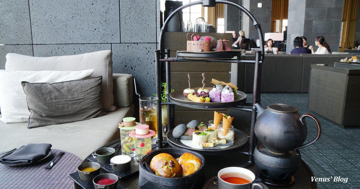 【東京下午茶】安縵東京Aman Tokyo黑色下午茶,低調奢華的黑色浪漫