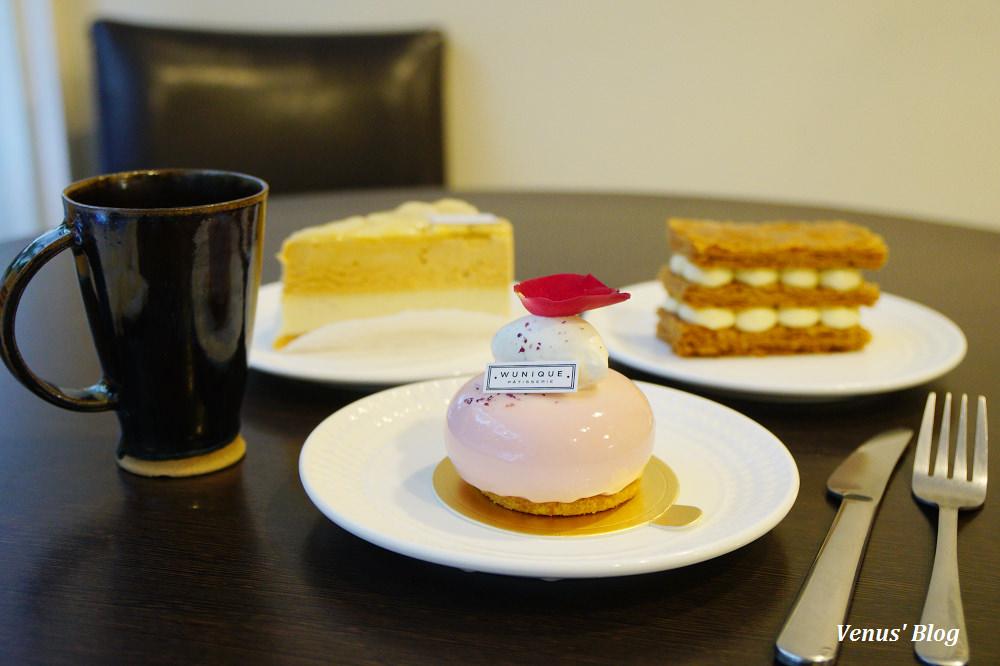 【六張犁甜點】無二烘焙工作室WUnique Pâtisserie法式甜點,法式千層派怎麼切小秘密