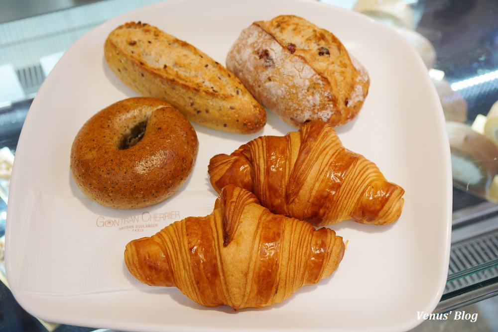 【國父紀念館站】Gontran Cherrier Bakery,來自巴黎神級超酥脆可頌,台北店跟日本店口感價格比一比