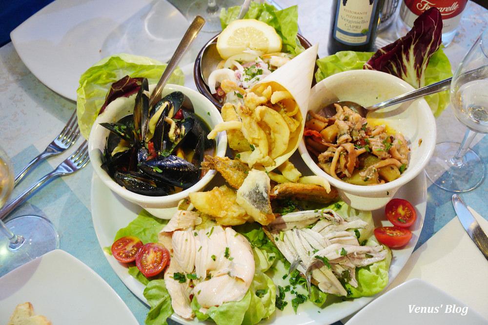 義大利卡布里島美食,Ristorante Verginiello,必點超值海鮮盤