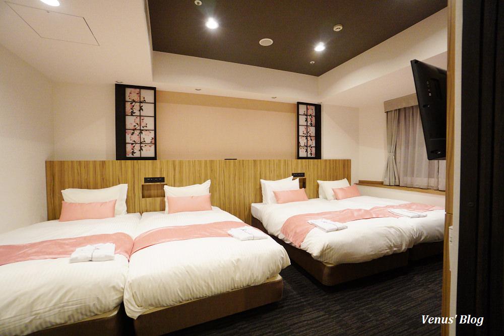 【東京新宿飯店】Hundred Stay Tokyo Shinjuku公寓式酒店,6人房有廚房.和室