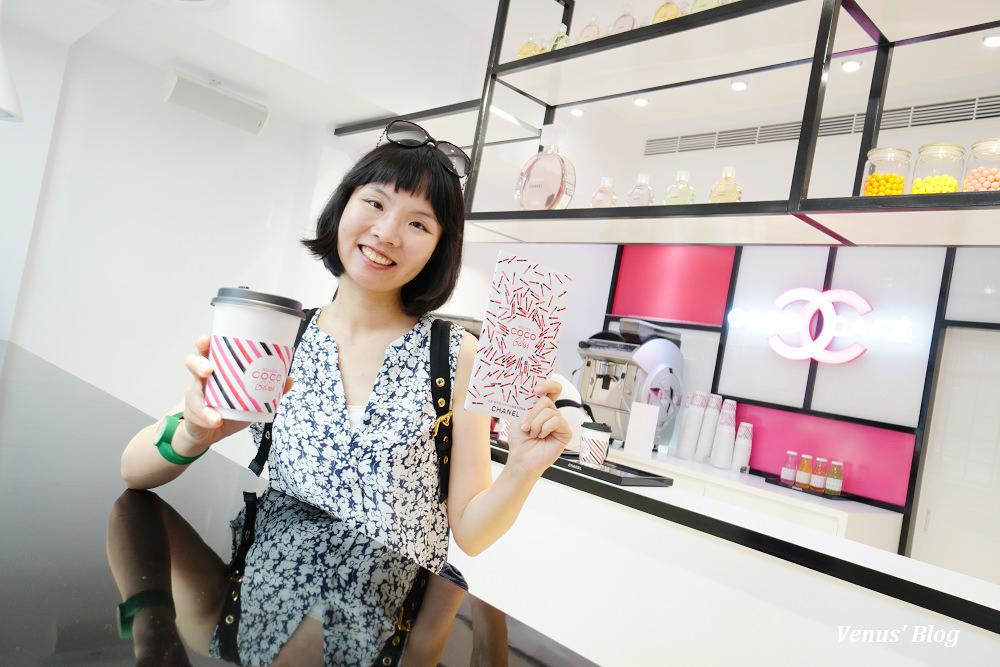 COCO CAFE香奈兒咖啡館台北快閃店,咖啡免費喝!