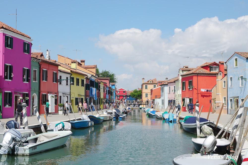 義大利威尼斯彩色島Burano全世界必去的十大夢幻小島-Day9