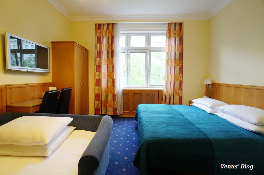 【維也納飯店】Hotel Corvinus,瑪莉亞希爾夫購物大道上,平價交通方便