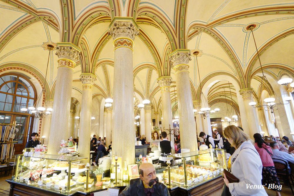 維也納中央咖啡館Cafe Central,世界十大最美咖啡館