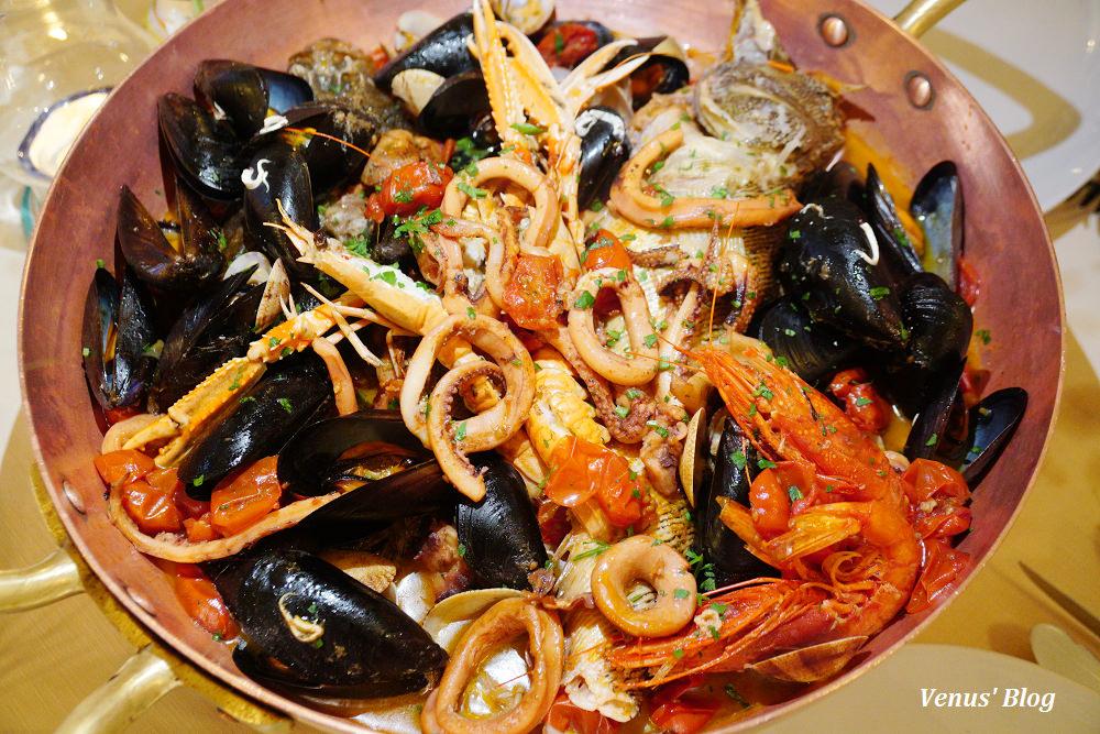 義大利阿瑪菲美食,Da Gemma,米其林推薦餐廳,豪邁點80歐的海鮮湯