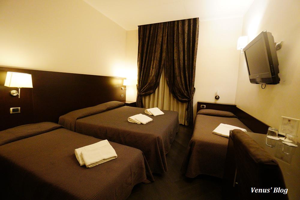 【羅馬梵蒂岡平價飯店】Hotel Florida,梵蒂岡精品購物街上