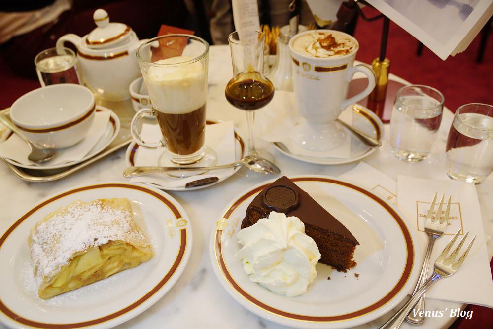 維也納薩赫咖啡館Cafe Sacher,一嚐最有名的薩赫蛋糕