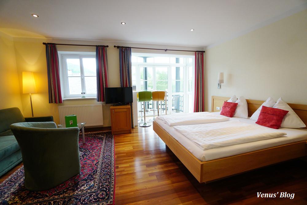 聖沃爾夫岡飯店Hotel Bürglstein,比哈修塔特更美更享受