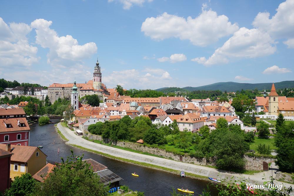 捷克庫倫洛夫Cesky Krumlov,布拉格出發搭火車遊最美的捷克小鎮-Day 28.29
