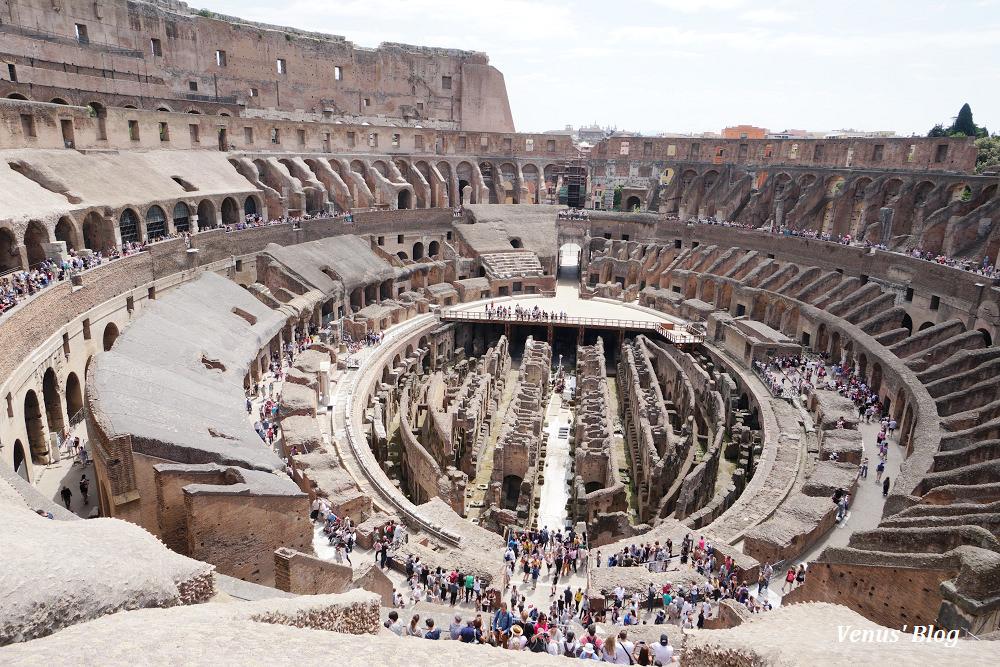 羅馬競技場地下及第三層導覽Underground&Third Ring Tour非常值得,訂票懶人包