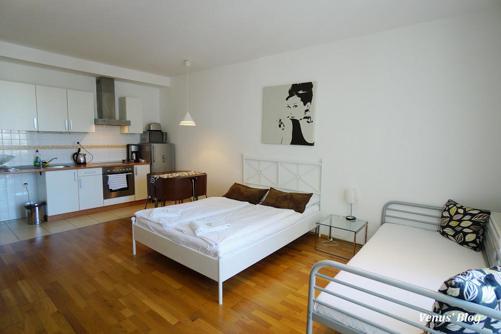 【布達佩斯公寓】Park Residence Budapest,地點好又平價,3人房每晚78歐