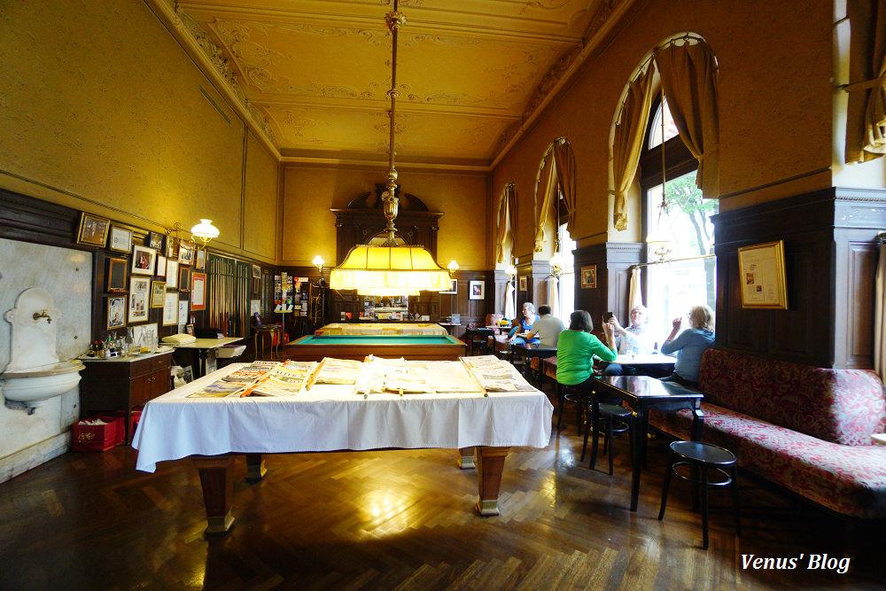 維也納百年老咖啡館:斯班咖啡Cafe Sperl