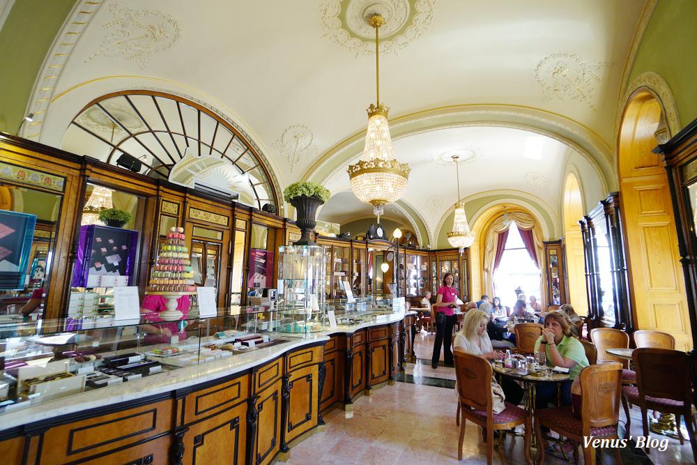 布達佩斯Cafe Gerbeaud,大名氣百年老咖啡館