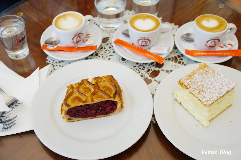 布達佩斯最古老的甜點店Ruszwurm Cukraszda,近漁夫堡.馬提亞斯教堂