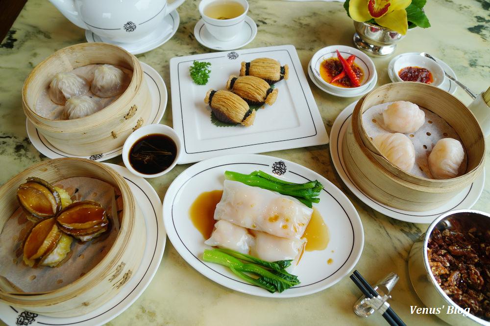 上海美食,半島酒店逸龍閣飲茶,上海米其林二星