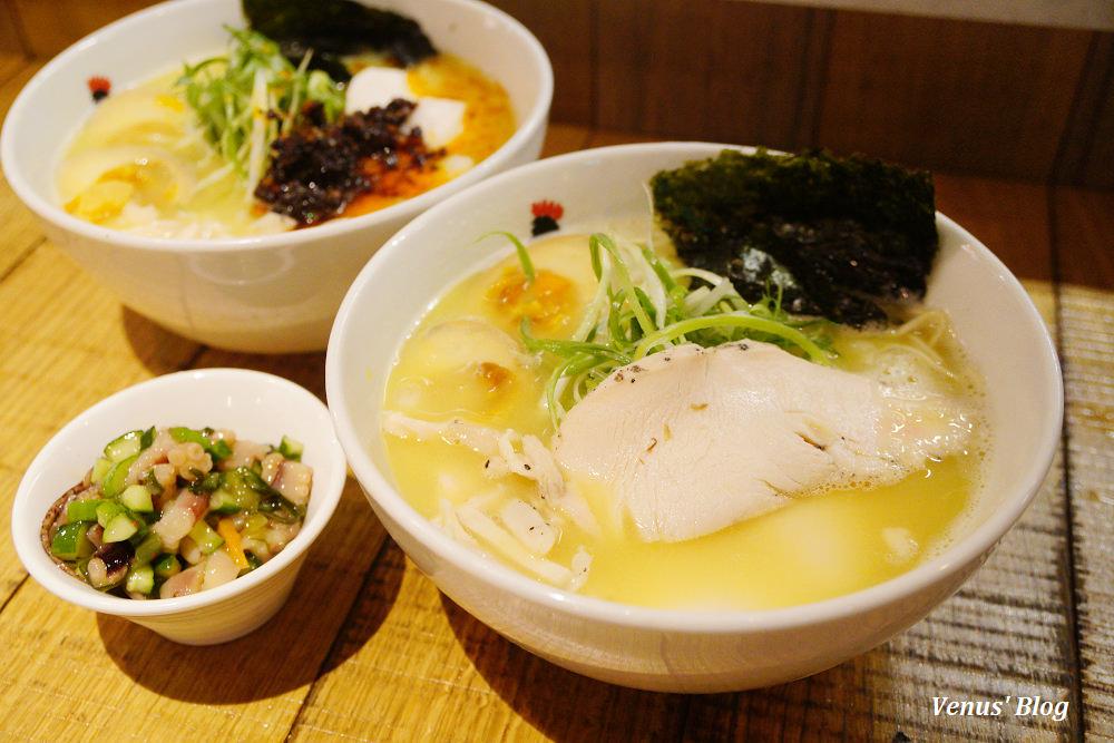台北東區美食 鳥人拉麵,好厲害的雞白湯,紐約必吃名店