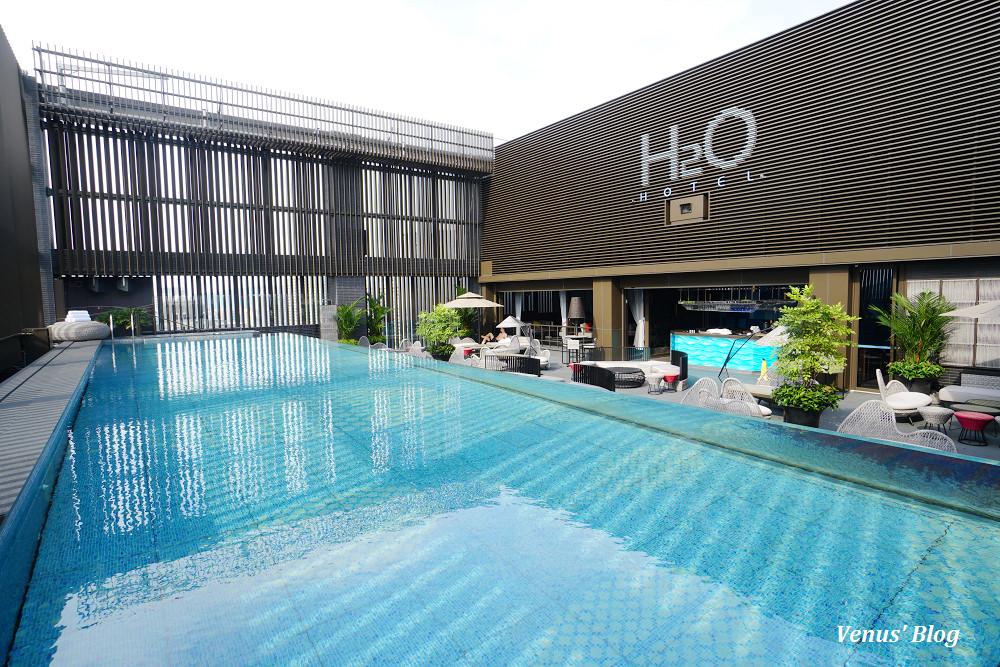 高雄水京棧國際酒店H2O Hotel,北高雄最頂級飯店,房內零食飲料免費吃