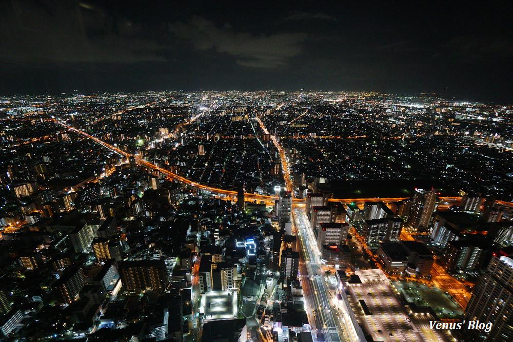 大阪必遊阿倍野HARUKAS 300展望台,一張票用2次賞無敵日夜景小秘密