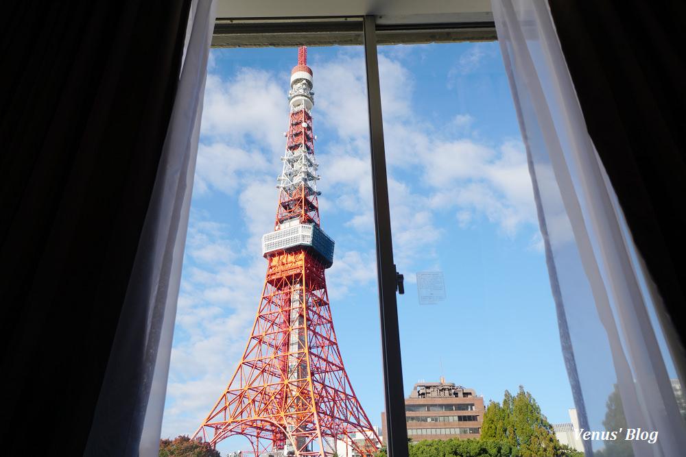 東京飯店|東京王子大飯店,窗外就是東京鐵塔