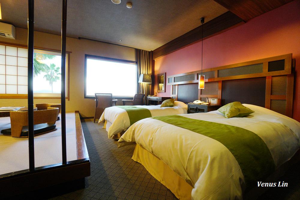 小豆島飯店 小豆島國際飯店,房間能看到天使之路的唯一飯店