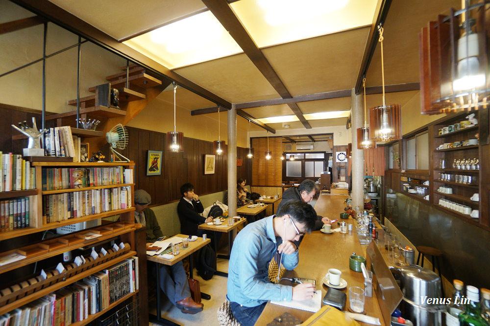 京都咖啡館早餐|逃現郷,隱身西陣的秘境咖啡館