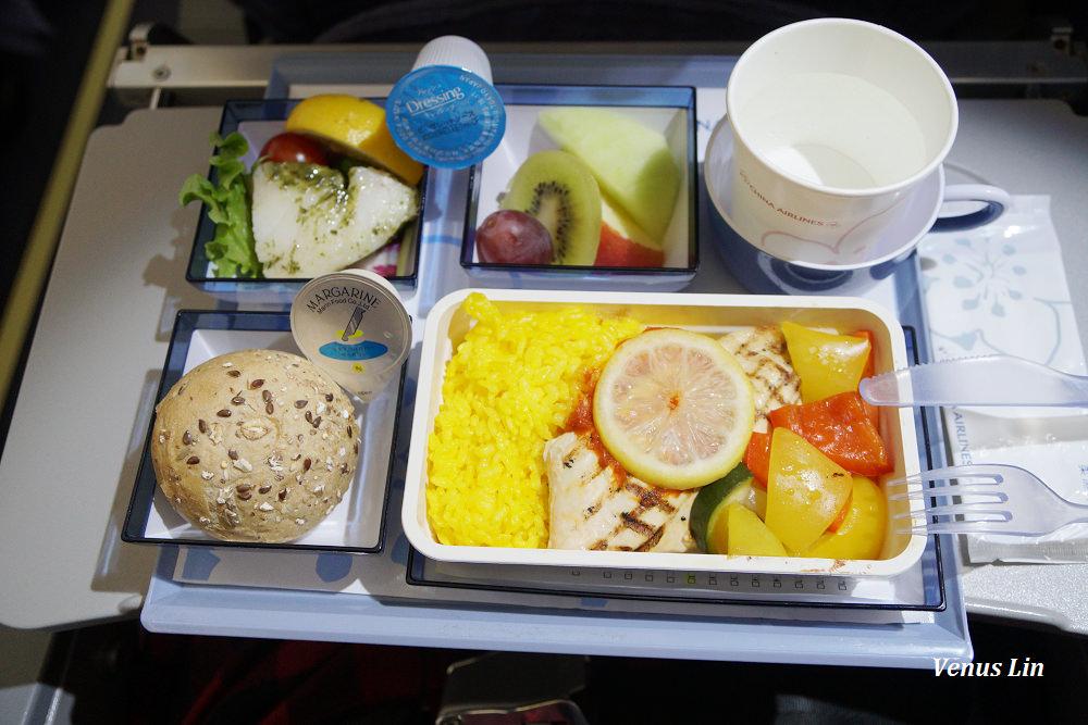 中華航空A330東京羽田飛松山糖尿病飛機餐.水果餐 2018.1.15