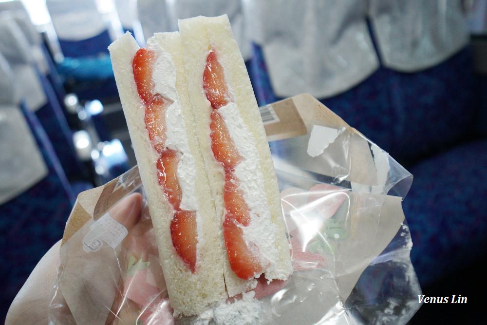 草莓三明治,日本便利商店必買
