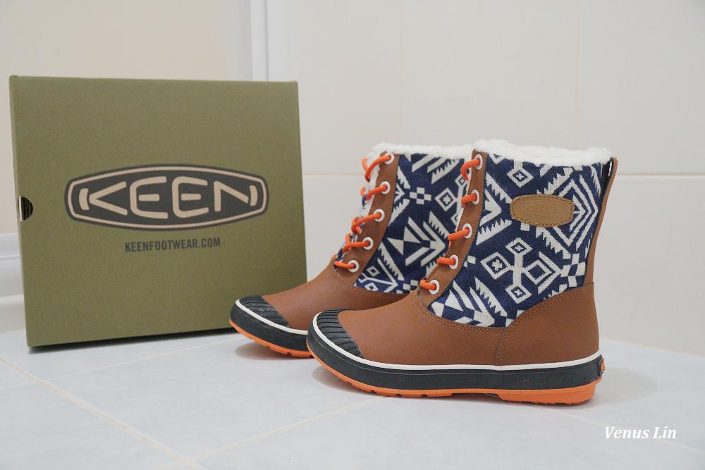 雪地穿搭,防滑保暖雪鞋,KEEN雪鞋,耐寒鞋子,耐寒到零下20度雪鞋