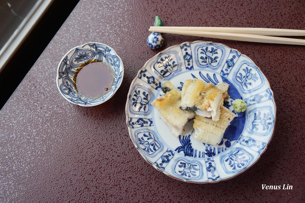 石川縣山中溫泉|料亭明月樓,外酥內嫩的白燒鰻魚怎麼可以這麼好吃
