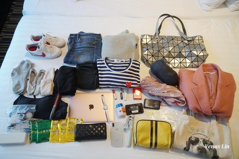 行李收納|日本沖繩京都9天只帶7kg手提行李小秘密